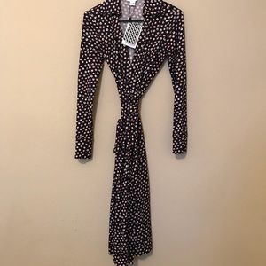 DVF Pirouette Wrap Dress